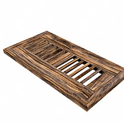 4 x 10 Tobacco Road Acacia Flush Grill 1/2