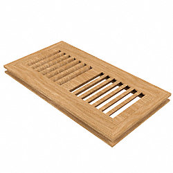 4 x 10 White Oak Flush Grill