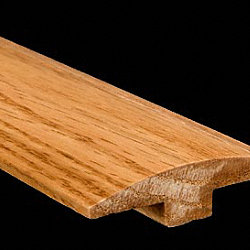 5/8 x 2 x 6.5LFT Red Oak T-Molding
