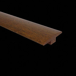 5/8 x 2 x 72 Honey Strand Bamboo T-Molding
