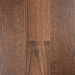 5.6mm x 5-1/8 Bistro Brown Oak Engineered Hardwood Flooring