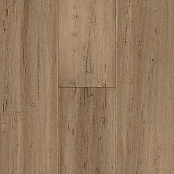 Strand Toffee Engineered Water Resistant Click Bamboo Flooring with Lifetime Warranty