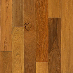 1/2x 5-1/8 Select Brazilian Walnut Engineered Hardwood Flooring