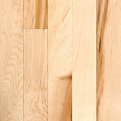3/4 x 2-1/4 Natural Maple Solid Hardwood Flooring
