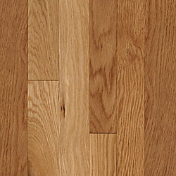 3/4 x 2-1/4 Natural White Oak Solid Hardwood Flooring