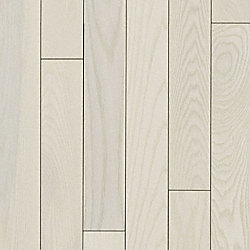 3/4 x 3-1/4 Matte Carriage House White Ash Solid Hardwood Flooring