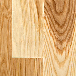 3/4 x 5 Natural Ash Solid Hardwood Flooring