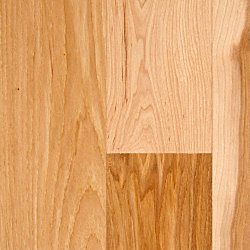 3/4 x 5 Natural Hickory Solid Hardwood Flooring