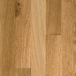 3/4 x 5 Natural White Oak Solid Hardwood Flooring
