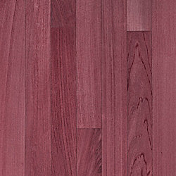 3/4 x 5 Select Purple Heart Solid Hardwood Flooring