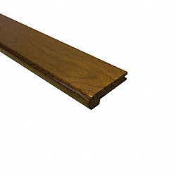 Prefinished Acacia Hardwood 1/2 in thick x 2.75 in wide x 78 in Length Stair Nose