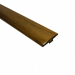 Prefinished Acacia Hardwood 1/4 in thick x 2 in wide x 78 in Length T-Molding