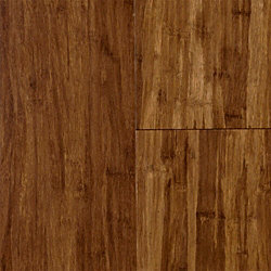 Carbonized Strand Wide Plank Click Engineered Bamboo Flooring - 50 Year Warranty
