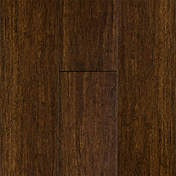 Antique Hazel Strand Smooth Wide Plank Solid Bamboo Flooring - 50 Year Warranty