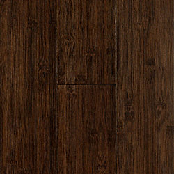 Chocolate Smooth Solid Bamboo Flooring - 10 Year Warranty