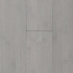 Haze Gray Smooth Solid Bamboo Flooring - 10 Year Warranty