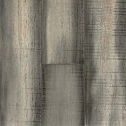 Morning Dove Strand Distressed Extra Wide Plank Float Engineered Bamboo Flooring - 9/16 in. thick
