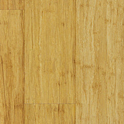 Natural Strand Wide Plank Click Solid Bamboo Flooring - 1/2 in. thick