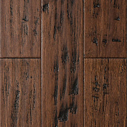 Sedona Trail Distressed Wide Plank Click Engineered Bamboo Flooring - 50 Year Warranty