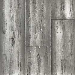Silver Stone Distressed Wide Plank Solid Bamboo Flooring - 50 Year Warranty