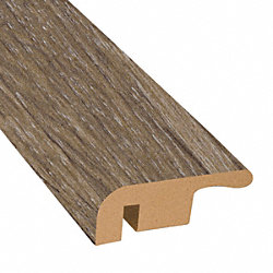 Beach Cottage Oak Laminate 1.374 in wide x 7.5 ft Length End Cap