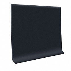 Black Vinyl 4 in x 120 ft roll Vinyl Wall Base