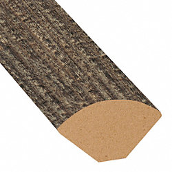 Boardwalk Oak Laminate 1.075 in wide x 7.5 ft Length Quarter Round
