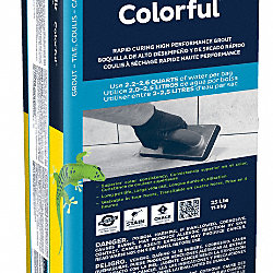 Colorful Charcoal Gray Grout -25 Lbs