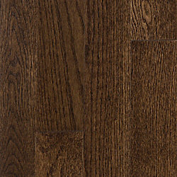 3/4 x 3-1/4 Mocha Oak Solid Hardwood Flooring