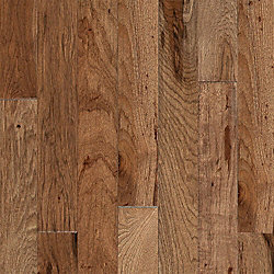 3/4 x 3-1/4 Walnut Hickory Solid Hardwood Flooring