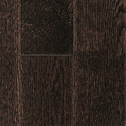 3/4 x 5 Espresso Oak Solid Hardwood Flooring