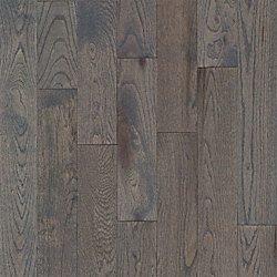 3/4 x 5 Gray Fox Oak Solid Hardwood Flooring