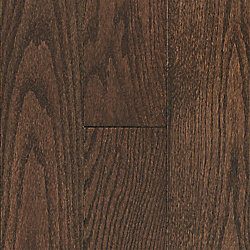 3/4 x 5 Mocha Oak Solid Hardwood Flooring