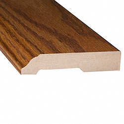 Butterscotch Oak Laminate 3.25 in wide x 7.5 ft Length Baseboard