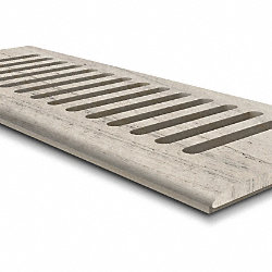 CLX Weathered Gray Pine 4x10 DI Grill