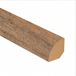 Calico Oak Laminate 1.075 in wide x 7.5 ft Length Quarter Round