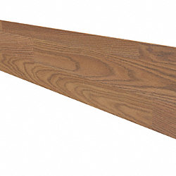 Cinnabar Oak 48 in Length Reversible Retro Fit Riser
