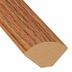 Cinnabar Oak Laminate 1.075 in wide x 7.5 ft Length Quarter Round