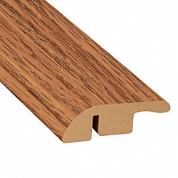 Cinnabar Oak Laminate 1.56 in wide x 7.5 ft Length Reducer