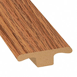 Cinnabar Oak Laminate 1.75 in wide x 7.5 ft Length T-Molding