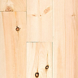 3/4 x 5-1/8 New England White Pine Unfinished Solid Hardwood Flooring