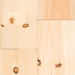 3/4 x 6-7/8 x 6 New England White Pine Unfinished Solid Hardwood Flooring