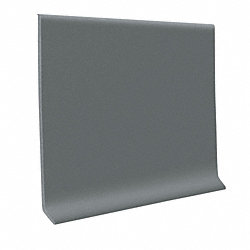Dark Gray Vinyl Waterproof 4 in wide x 120 ft Length roll Vinyl Wall Base