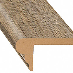 Dutch Barn Oak Laminate 2.3 in wide x 7.5 ft Length Flush Stair Nose