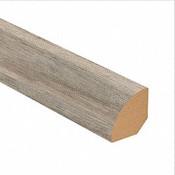 Edgewater Oak Vinyl 1.075 in wide x 7.5 ft Length Quarter Round