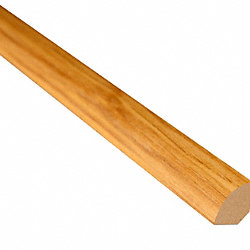 Fairfield County Hickory Laminate 1.075 in wide x 7.5 ft Length Quarter Round