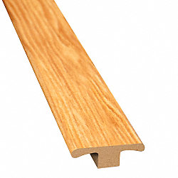 Hot Springs Hickory Laminate 1.75 in wide x 7.5 ft Length T-Molding