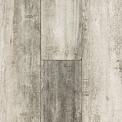 12mm Gray Oak 72 Hour Water-Resistant Laminate Flooring