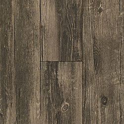 8mm w/pad Marietta Hickory Engineered Vinyl Plank Flooring