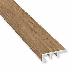 Mojave Hickory Vinyl Waterproof 1.5 in wide x 7.5 ft Length End Cap